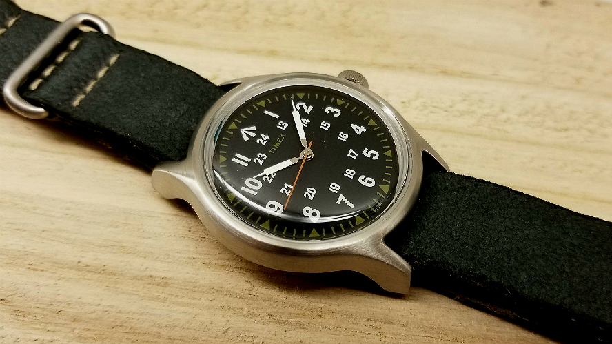 3be04eddfadf Timex x Nigel Cabourn Watch. Review   pictures.